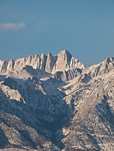 Mount Whitney sunrise<br /> 20100126