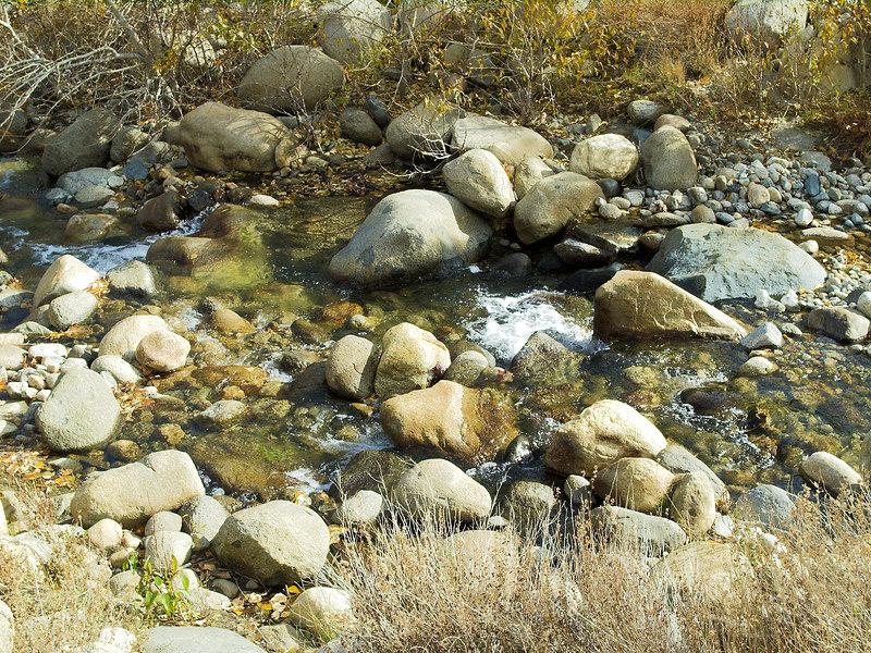 Lower Big Pine Creek<br /> November 12, 2006