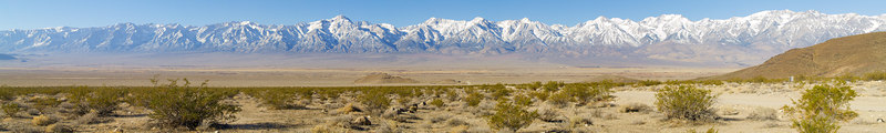 """Mount Williamson - Independence Area from Mazourka Canyon Road  <a href=""""http://www.dbdimages.com/photos/76572823_WpPHA-O.jpg""""TARGET=""""blank"""">View large in another window.</a> Use your viewer's zoom function if necessary and be sure to use the sliders."""