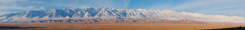 """Owens Valley/Sierra Nevada Sunrise.  <a href=""""http://www.dbdimages.com/photos/896172950_NpQm2-O-1.jpg""""TARGET=""""blank"""">View large in another window.</a> Use your viewer's zoom function if necessary."""