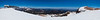 Panorama from the top of the Cornice. The top of Chair 23 to the left, the top of the Panorama Gondola to the right.<br /> June 17, 2010.