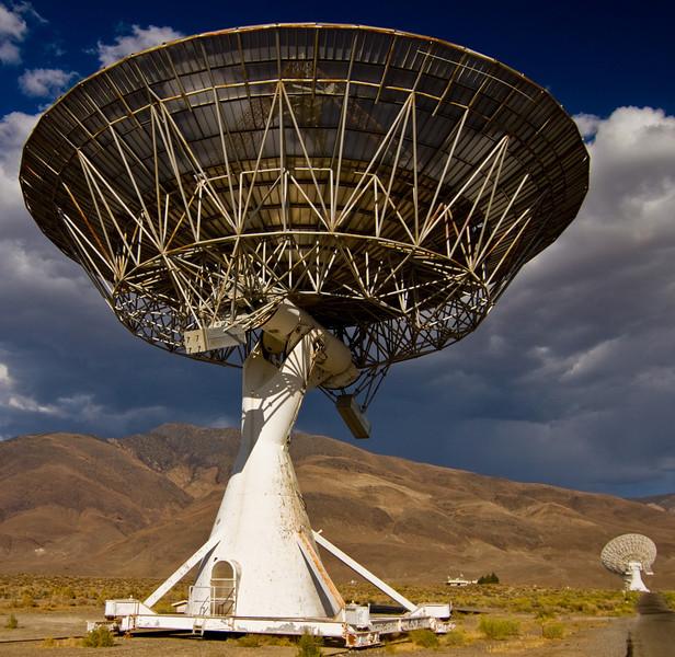 National Radio Astronomy Observatory NRAO Owens Valley VLBA Station, Big Pine
