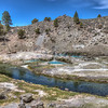 063 Hot Creek active geologic site, Long Valley Caldera, Mono County, California