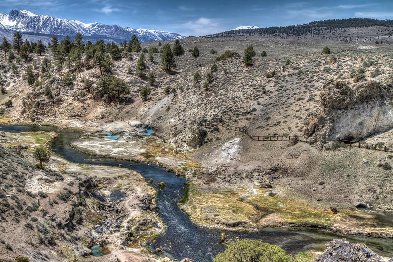 065 Hot Creek active geologic site, Long Valley Caldera, Mono County, California