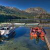 Gull Lake Marina, June Lake, California