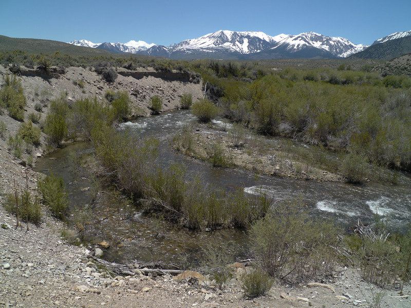 2011-06-13<br /> The exceptionally large snowpack still visible in June promises higher water to come this year.