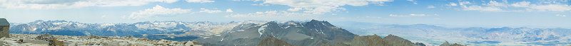 """Mount Whitney View: West, North, East 2006-07-16  <a href=""""http://www.dbdimages.com/photos/82879275_7MDXu-O.jpg""""TARGET=""""blank"""">View large in another window.</a> Use your viewer's zoom function if necessary and be sure to use the sliders."""