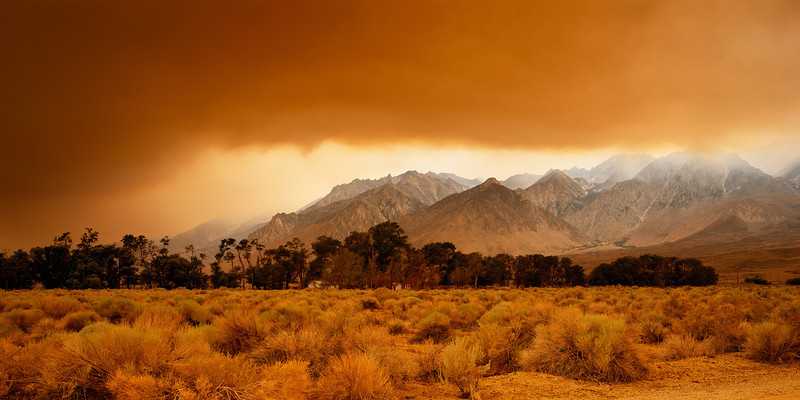 """Fire in the Sierras"""
