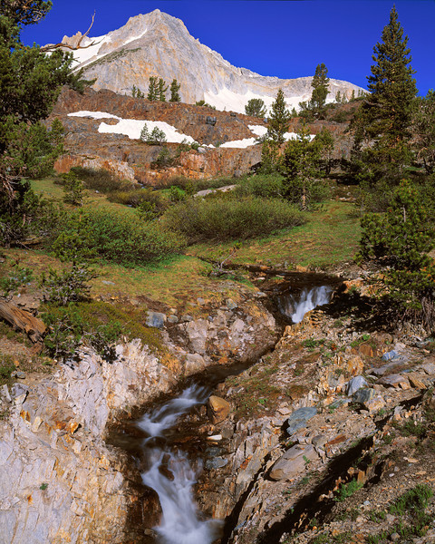 """Seasonal Creek & North Peak"""