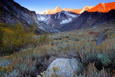 Sunrise, Mount McGee Mono County California