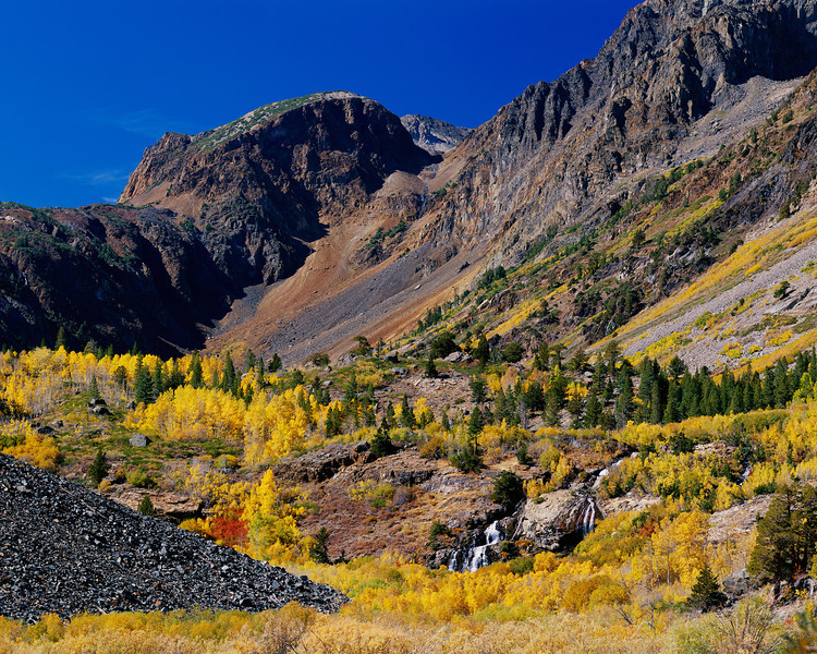 """Autumn in Lundy Canyon"""