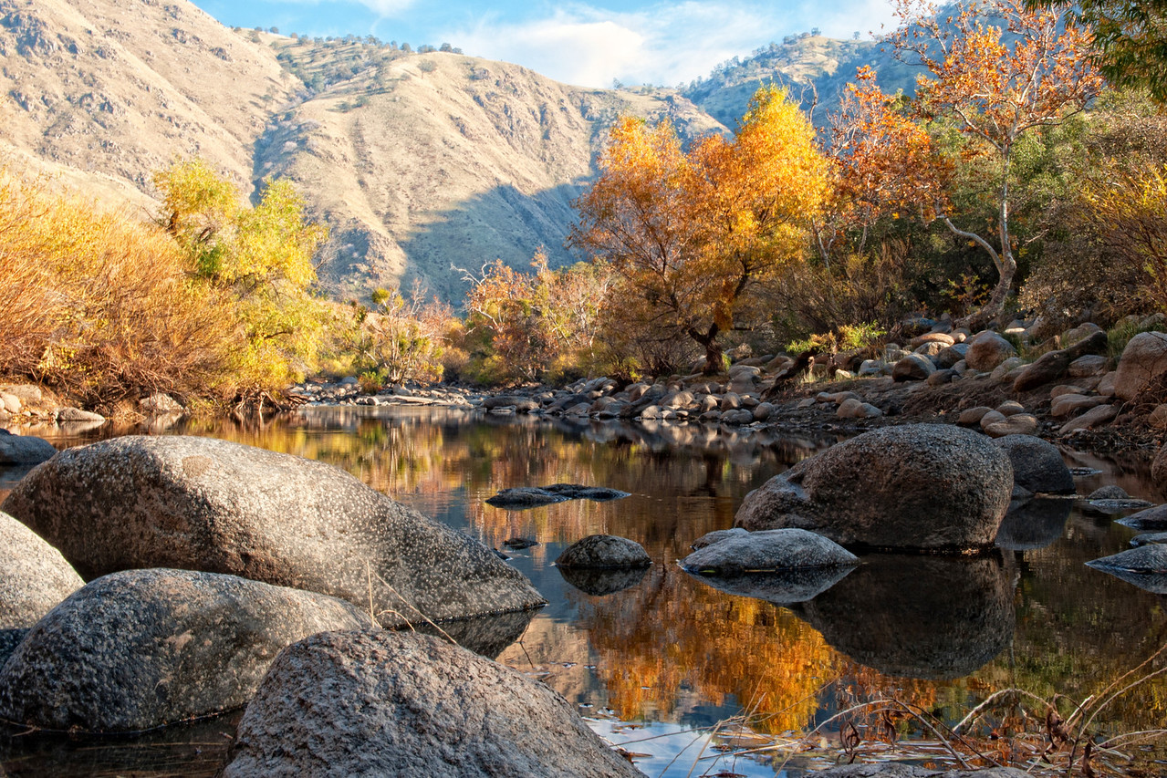 Kern River reflections