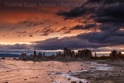 Sunrise, South Tufa