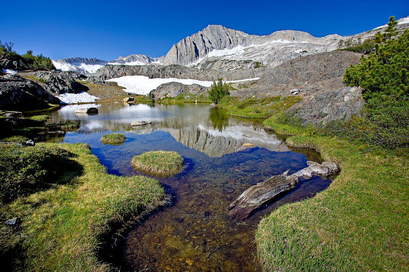 """Twenty Lakes Basin, Eastern Sierra"""