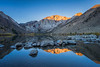Sunrise at Convict Lake