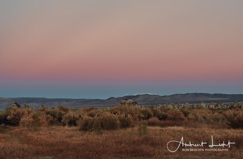 Mono Lake at Twilight