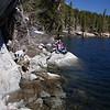 Hike around Rock Creek Lake