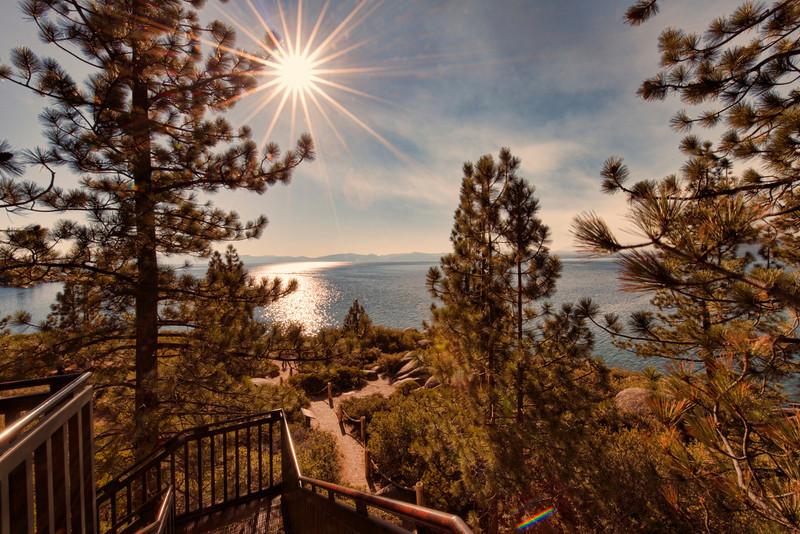 Starburst at Lake Tahoe