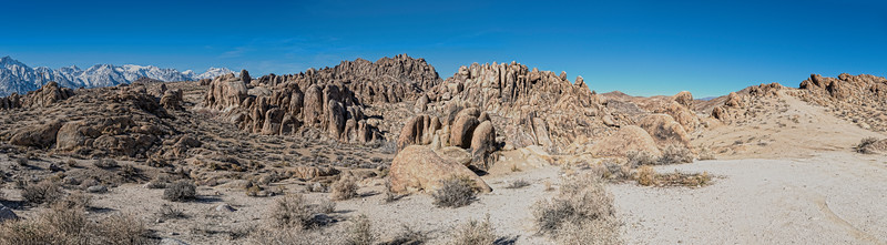 Alabama Hills Panoramic