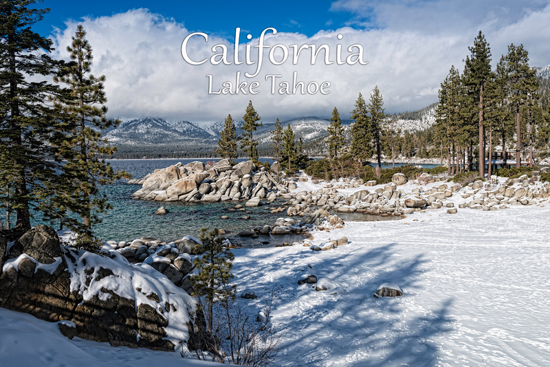 Lake Tahoe, California SKU: CALMAG2