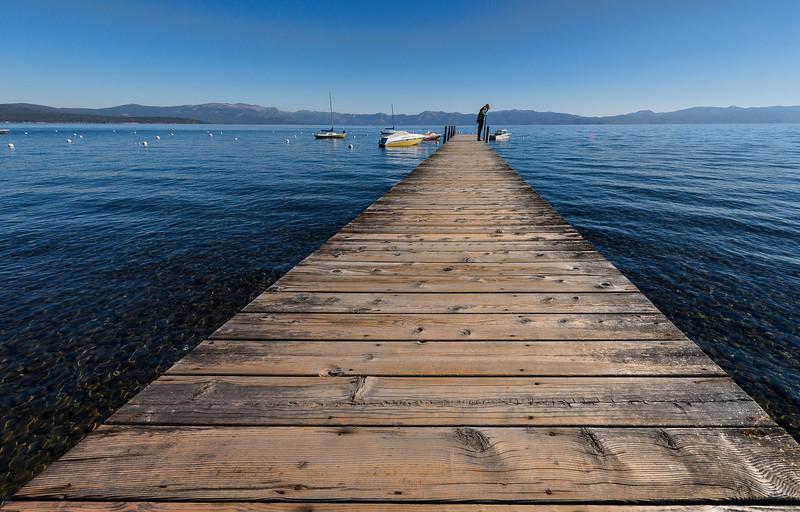 Long Dock in Lake Tahoe
