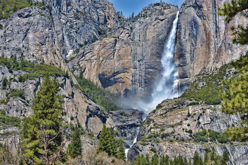 HDR Yosemite Falls