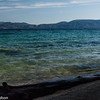 Lake Tahoe takes on many shades of blue.