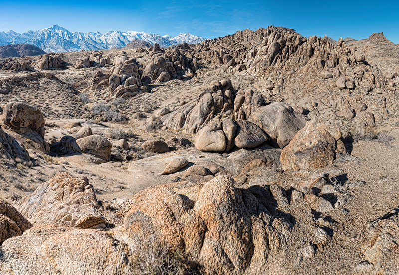 Rocks in the Alabama Hills