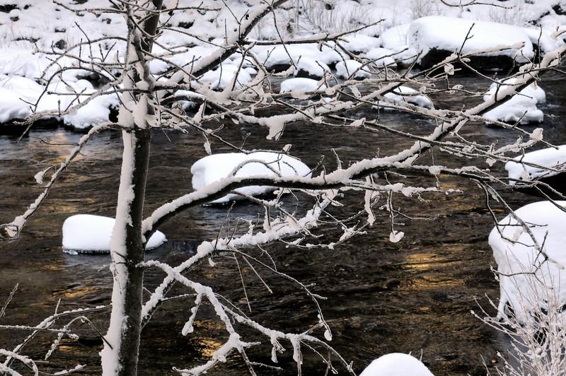 Snow on the Merced