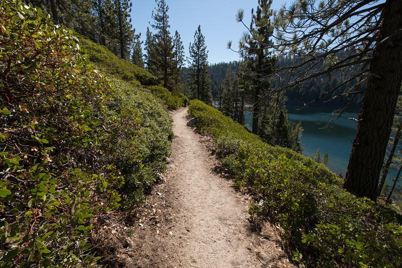 Lake hike