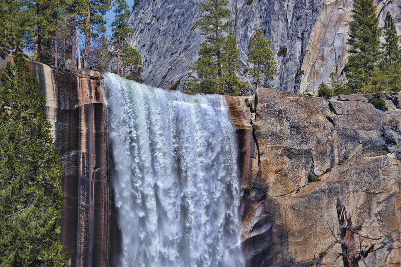 The power of Vernal Falls