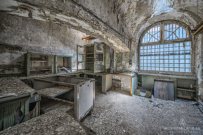 Laboratory, Eastern State Penitentiary Historic Site, Philadelphia, PA