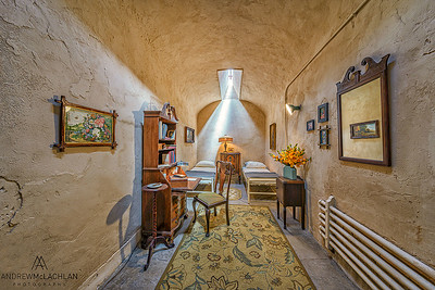 Al Capone's cell, Eastern State Penitentiary Historic Site, Philadelphia, PA