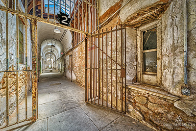 Cell Block 2, Eastern State Penitentiary Historic Site, Philadelphia, PA