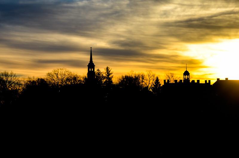 Sunset of Gettysburg