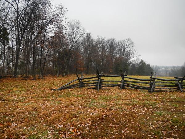 manassas national battlefield park; virginia A glimpse at the battlefield.