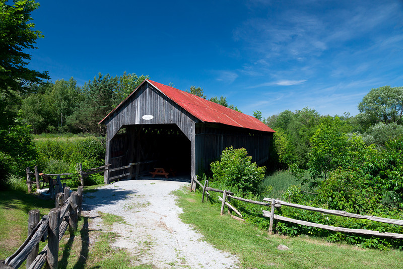 John Cook Covered Bridge - Cookshire - Eastern Townships - Quebec<br /> Singh-Ray LB ColorCombo