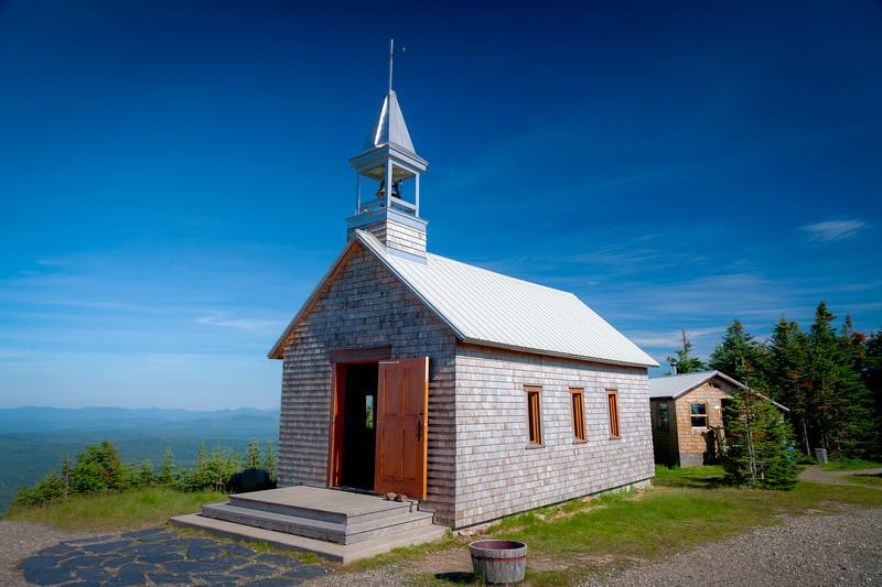 Mont Saint-Joseph Chapel - Mont-Megantic National Park<br /> Singh-Ray LB Colorcombo