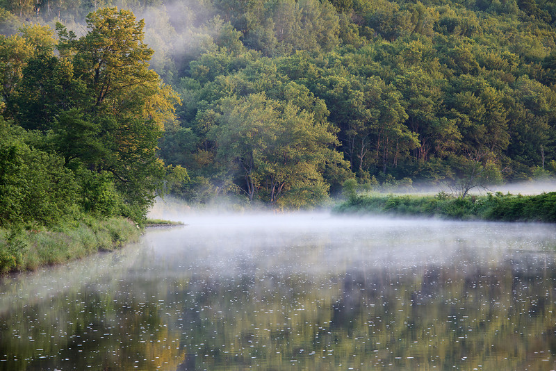 Missisquoi River, Glen Sutton - Eastern Townships, Southern Quebec<br /> Singh-Ray LB ColorCobo