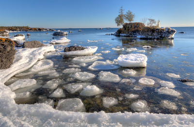 Ice Slabs off Narnia