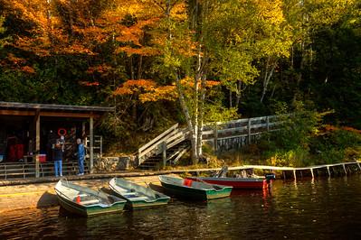 Tahquamenon Falls rowboats