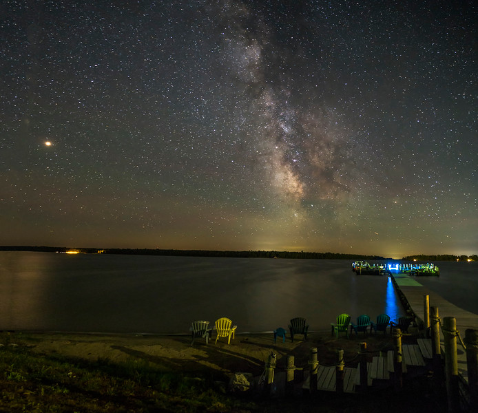 Milky Way over Hessel Bay