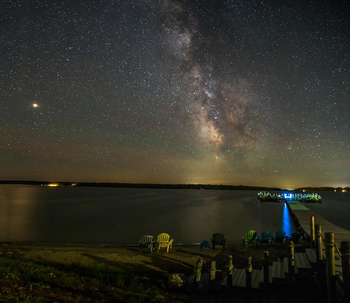 Milky Way over Hessel Bay