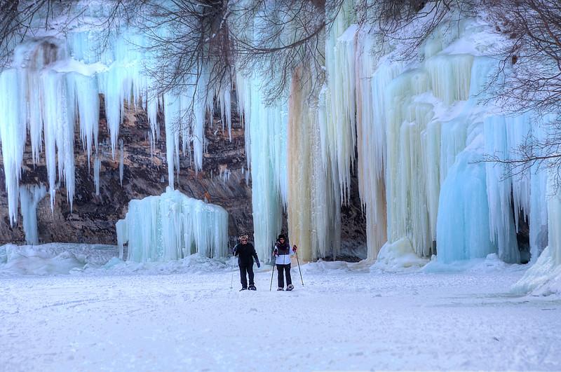 Grand Island ice caves