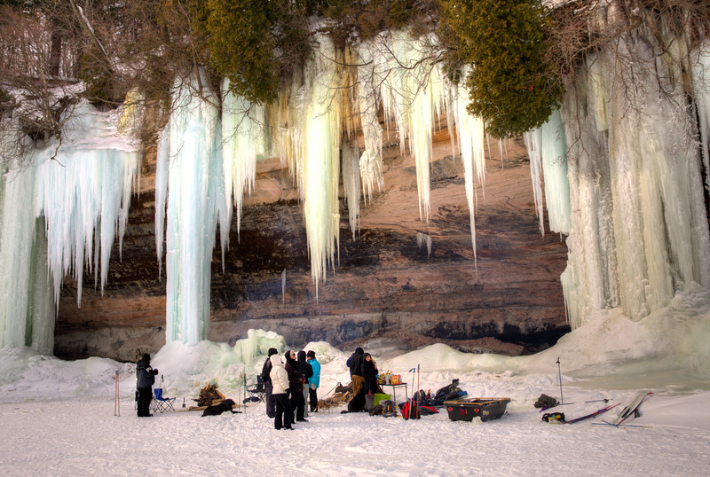 Grand Island Ice formations