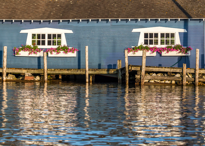 Boathouse Flower Boxes