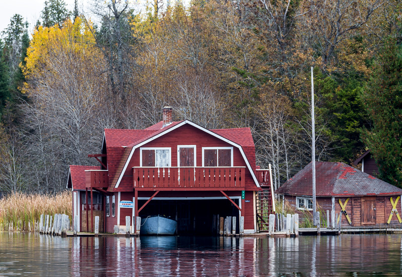 Fall Boathouse