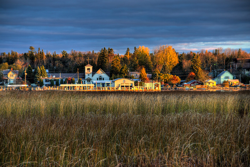 Cedarville Waterfront in the Fall