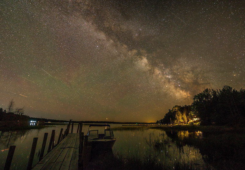 Milky Way over Smith Bay