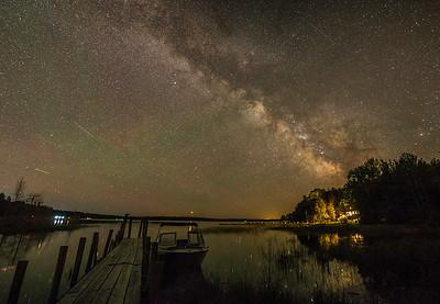 Milky Way over Smith Bay